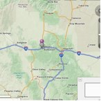 Map of Williams Arizona